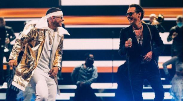 Marc Anthony anunció que Daddy Yankee sería su invitado especial. Foto: @officialmarcanthony