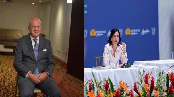 Tras su reunión los dos segundos mandatarios brindarán declaraciones a la prensa nacional e internacional. Foto: Twitter @ABorreroVega y @Vice_Ec