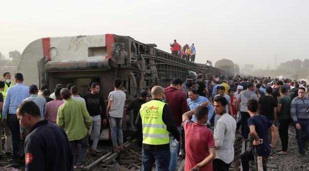 En la mayor parte de los casos, los accidentes se deben a errores humanos así como al mal estado de la red ferroviaria y a la falta de sistemas de señalización y seguridad. Foto: Twitter @AztecaNoticias