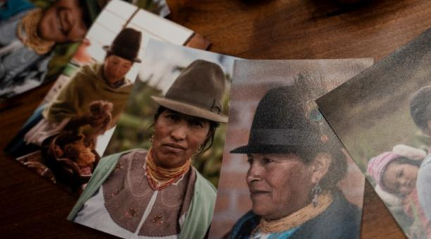 Retratos de las artesanas de la marca de moda sustenable Allpamamas. Foto: Cortesía