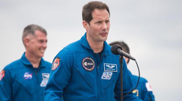 Thomas Pesquet, astronauta tripulante de SpaceX, dijo que sería terrible llevar el covid-19 al espacio. Foto: EFE