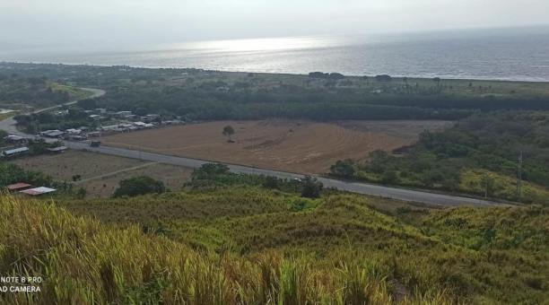 Imagen referencial desde la parte alta de la zona de Colope, en el norte de Esmeraldas. Foto: Cortesía