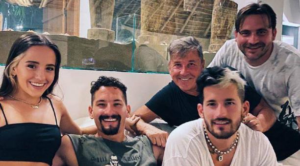 La familia Montaner anunció que será parte de un 'reality' que se filmará en Miami.Foto: Facebook Ricardo Montaner