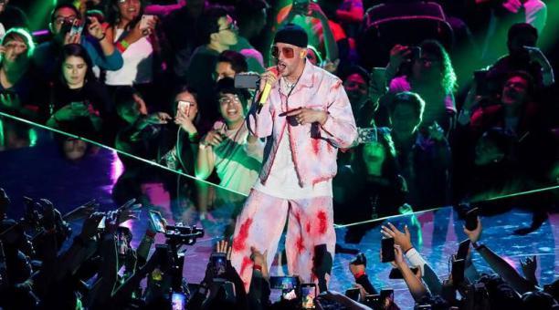 El cantante puertorriqueño Bad Bunny. Foto: EFE