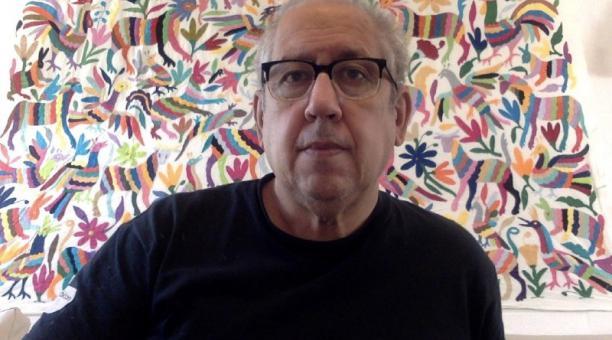 El dramaturgo Arístides Vargas nació en Córdoba, Argentina, y  llegó a Quito a mediado de los años 70. Foto: cortesía