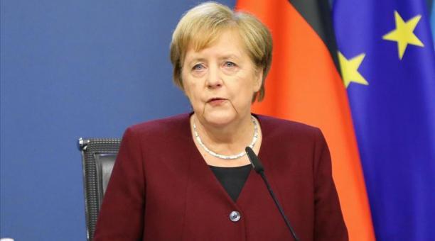 La canciller alemana destacó la importancia del Estado de derecho y la necesidad de seguridad jurídica