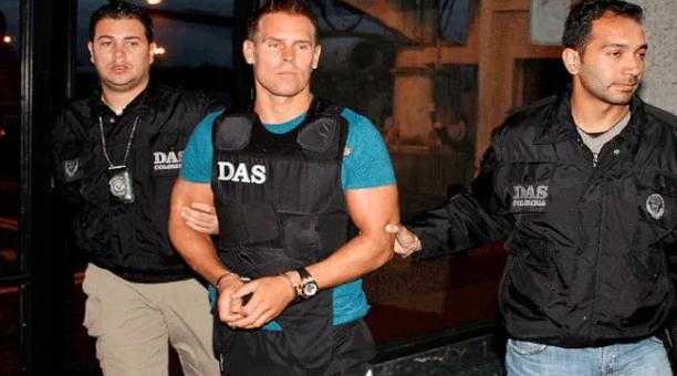 Jonas Sture Falk fue juzgado en Suecia acusado de narcotráfico por el decomiso de cuatro grandes alijos de cocaína entre 2006 y 2010. Foto: Twitter @laotracara_co