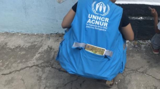 La Corte Constitucional de Ecuador y Acnur suscriben acuerdo sobre protección a refugiados, asilados y migrantes en el país andino. Foto: Facebook Acnur