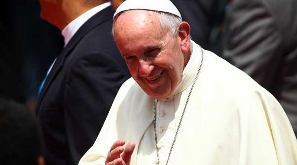 El papa Francisco visitó Ecuador por primera vez en el 2015. Foto: archivo / EL COMERCIO