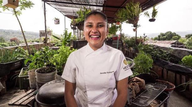 La colombiana Jennifer Rodriguez es una de los ocho jóvenes latinoamericanos incluidos en la lista 50 Next que reconoce el aporte a la gastronomía mundial. Foto: Agencia EFE