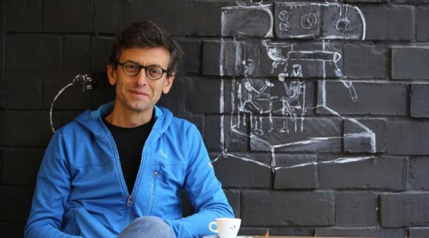 José Vélez, uno de los precursores del café de calidad en el país.Foto: Vicente Costales / EL COMERCIO