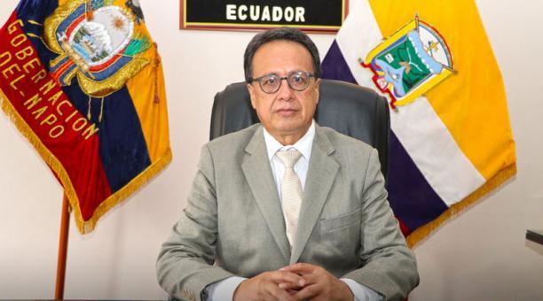 El gobernador de la provincia amazónica de Napo, Edwin Tello, falleció víctima del covid-19 el 21 de abril del 2021. Foto: Gobernación Napo
