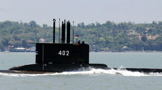 Uno de los submarinos de Indonesia desapareció, mientras realizaba ejercicios militares con la flota naval. Foto: EFE
