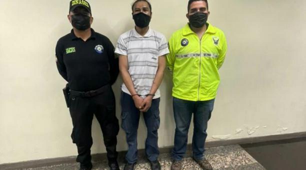 El sospechoso, quien era pareja sentimental de la víctima, fue detenido por femicidio en el norte de Quito. Foto: Cortesía