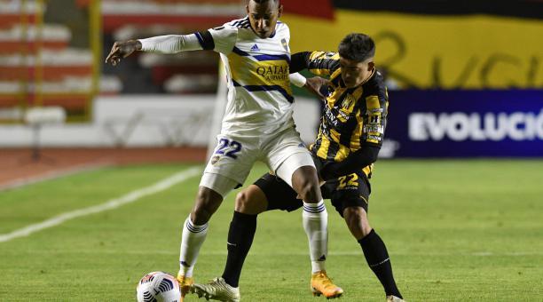 Boca Juniors se impuso en La Paz en su primer partido de la Copa Libertadores. Foto: EFE