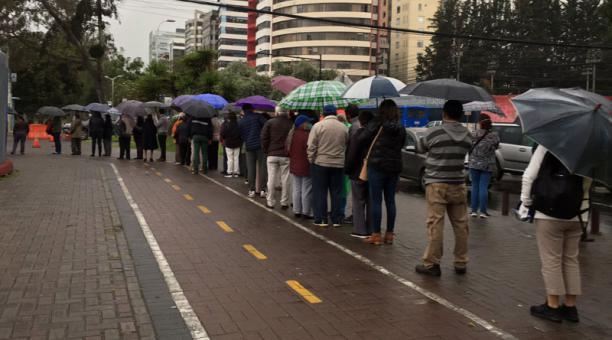 Una jornada de vacunación contra la covid-19 en el Centro de Exposiciones en Quito el 21 de abril del 2021. Foto: Cortesía Ana Mariela Cevallos