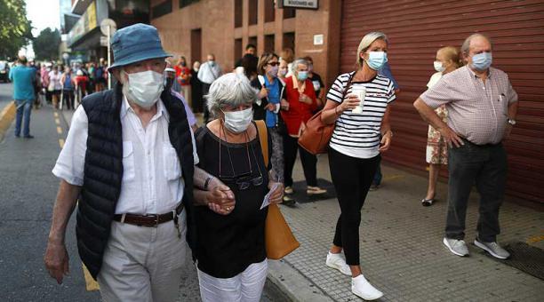 Argentina alcanzó este 21 de abril del 2021 los 2 769 552 contagios de covid-19. Foto: EFE