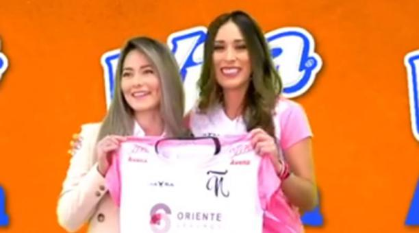 El Club Ñañas firmó un convenio con la empresa privada, este 22 de abril del 2021, de cara a la Superliga femenina de fútbol. Foto: captura de pantalla