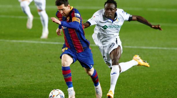 Lionel Messi fue figura en la nueva victoria del FC Barcelona. Foto: EFE