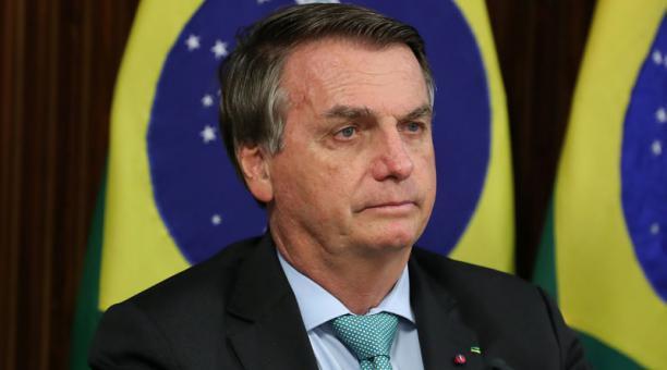 El presidente brasileño, Jair Bolsonaro, el jueves 22 de abril del 2021. Foto: REUTERS