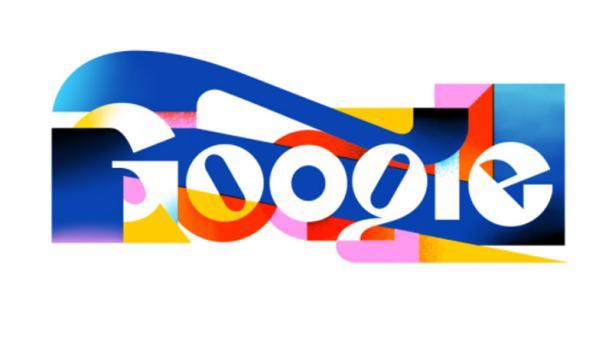 La Ñ tiene su homanaje de Google con un tradicional doodle. Foto: captura de pantalla