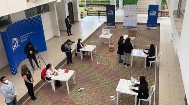 El voto nulo fue la opción mayoritaria en 17 cantones. Foto: Cortesía CNE