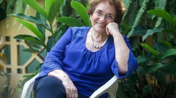 La activista y mediadora Nelsa Curbelo. Foto: Enrique Pesantes / EL COMERCIO
