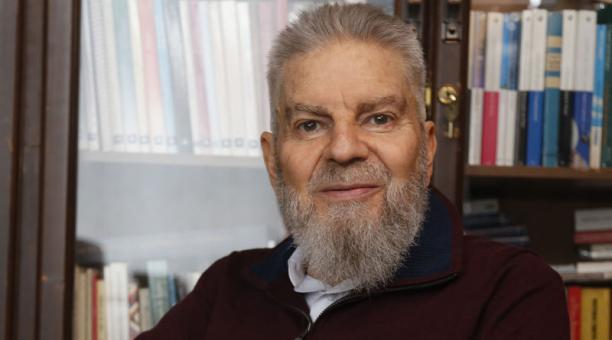 Vladimir Serrano (Quito 1952) estudió Derecho en la Universidad Central de Quito. Foto: Diego Pallero / EL COMERCIO