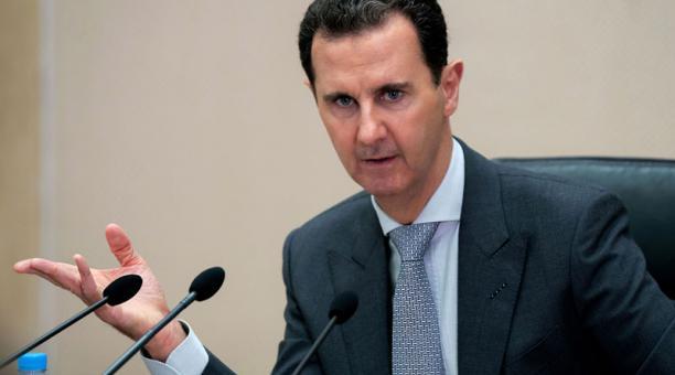 El presidente de Siria, Bachar al Asad, habló con Vladimir Putin por las vacunas rusas contra el covid-19. Foto: EFE