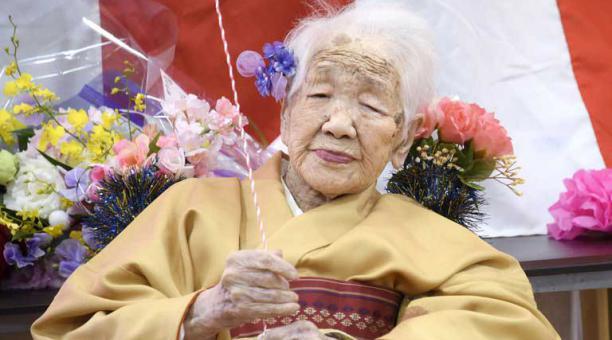 Kane Tanaka, nacida en 1903, participará de la ceremonia de la antorcha de los Juegos Olímpicos de Tokio 2020 a sus 118 años.  Reuters