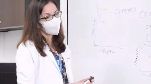 Ximena Garzón ha laborado como coordinadora general de docencia con experiencia a nivel nacional e internacional. Foto: Twitter Ximena Garzón