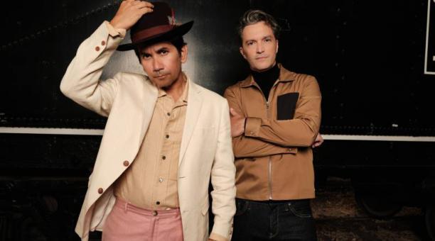 Jorge Villamizar y José Javier Freire, dos de los integrantes de Bacilos. Foto: Cortesía de Gisella Heredia.