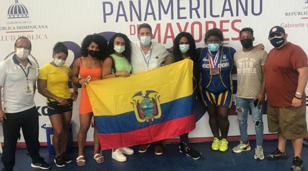 Las selección ecuatoriana fue segunda en el Panamericano de República Dominicana. Mañana viaja a Colombia. Foto: Cortesía Comité Olímpico Ecuatoriano