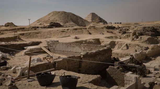 Imagen referencial. En Egipto descubrieron tumba pertenecientes al período Naqada III. Foto: Twitter