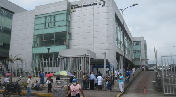 La ocupación en la red pública hospitalaria de la provincia Tsáchila supera el 160%. Foto: El Comercio.
