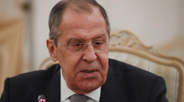 La expulsión de los diplomáticos fue adoptada por el Ministerio de Relaciones Exteriores, dirigido por  Sergei Lavrov. Foto: EFE