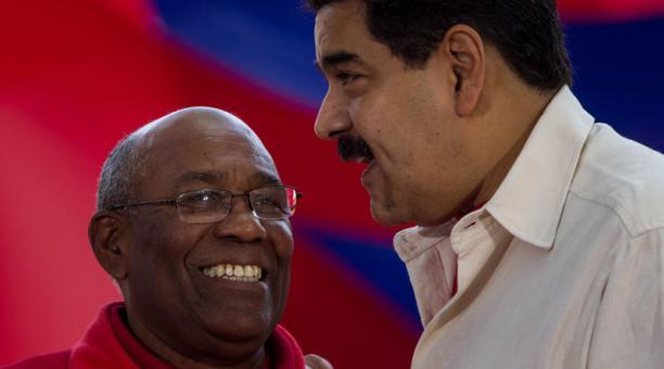 Aristóbulo Istúriz fue ministro de Educación en los gobiernos de Nicolás Maduro y Hugo Chávez. Foto: EFE