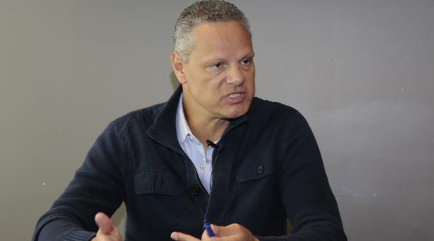Esteban Paz, el directivo de Liga de Quito, habló sobre el momento del equipo. Archivo/EL COMERCIO