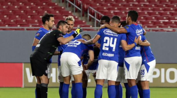 Los jugadores del Cruz Azul que derrotaron al Toronto FC. Foto: @CruzAzul