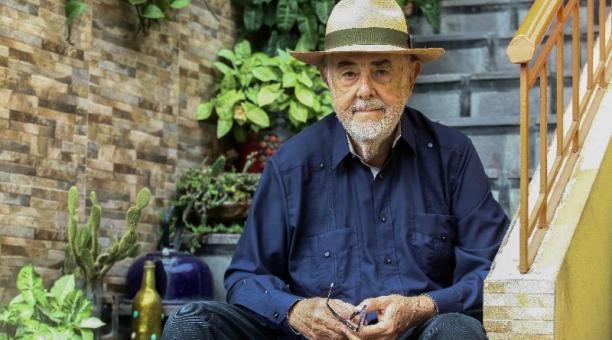 El arqueólogo Jorge Marcos Pino. Foto: Enrique Pesantes / EL COMERCIO