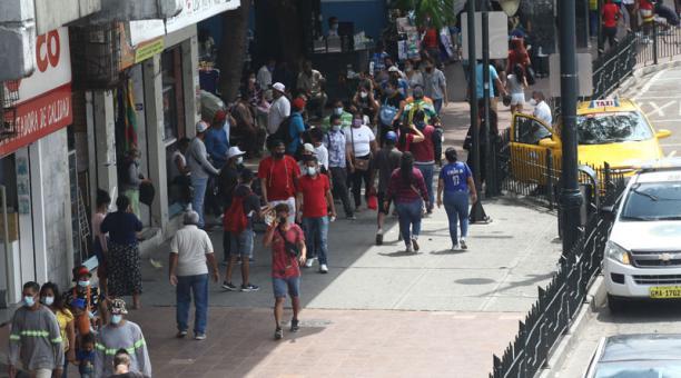 En Ecuador se aprobó el estado de excepción para 16 provincias, Entre ellas Guayas. Foto: Enrique Pesantes / EL COMERCIO