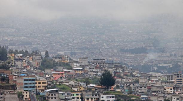 La fría temperatura de Quito continuará presente este 30 de abril de 2021. Foto: Julio Estrella / EL COMERCIO
