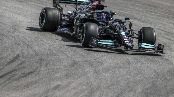 Lewis Hamilton fue el mejor en las pruebas del Gran Premio de Portugal. Foto: EFE