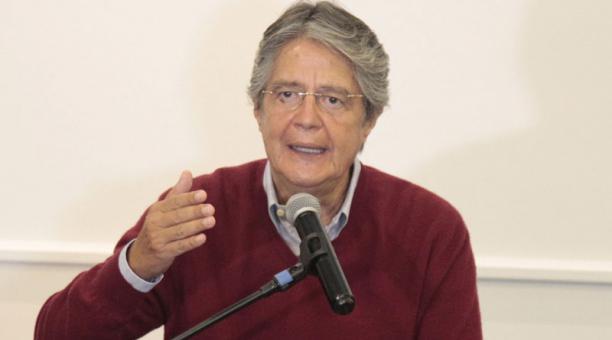 El presidente electo, Guillermo Lasso, dijo que cerrará el CIES, antigua Senain. Foto: EL COMERCIO