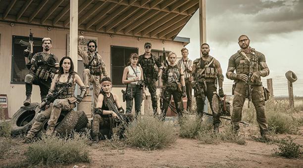 Un grupo de mercenarios se aventura en un área de cuarentena para cometer el atraco de sus vidas. Netflix, 21 de mayo. Foto: Archivo Particular