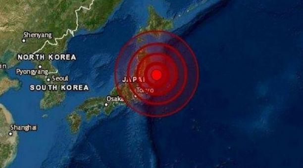 Un terremoto de magnitud 6.8 sacudió este sábado 1 de mayo del 2021 el noreste de Japón. Foto: Captura