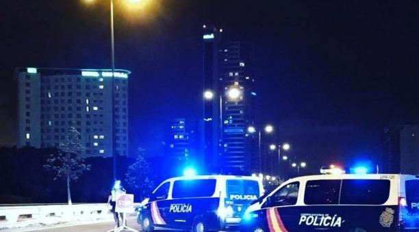 En España rige hasta el próximo 9 de mayo del 2021 el estado de alarma por la pandemia. Foto: Policía Nacional España