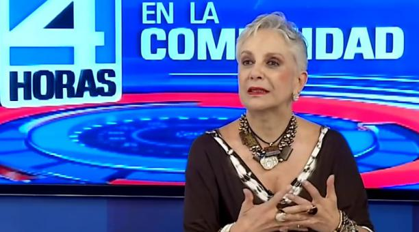 Margarita Dávalos padecía cáncer y antes de fallecer se desempeñaba como vicepresidenta comercial de Teleamazonas. Foto captura