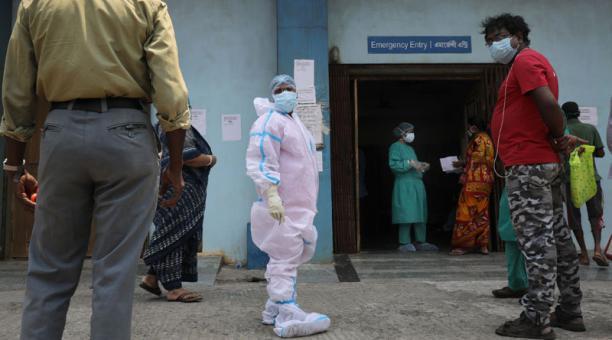 Países de la Unión Europea han enviado distintos insumos médicos como ayuda para India, ante la crisis sanitaria generada por el coronavirus. Foto: EFE