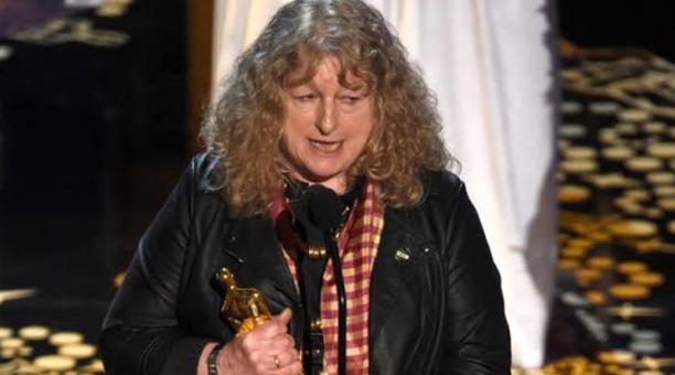 Jenny Beavan ganó un Oscar por el vestuario diseñado en Mad Max  Fury road. Foto: Cuenta Twitter @dogys_007